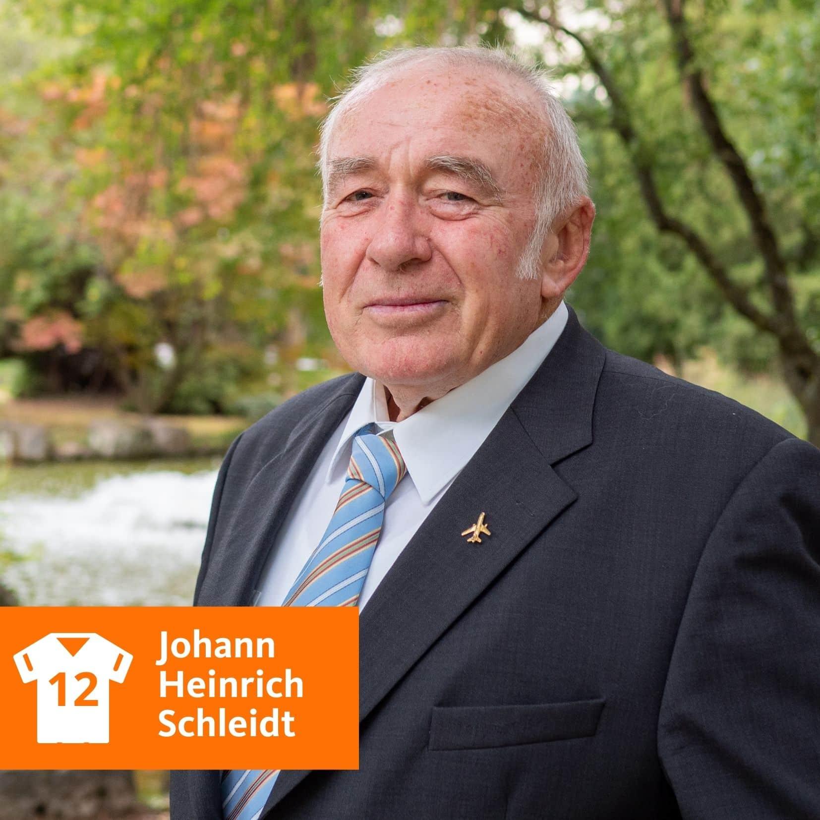 Johann Heinrich Schleidt