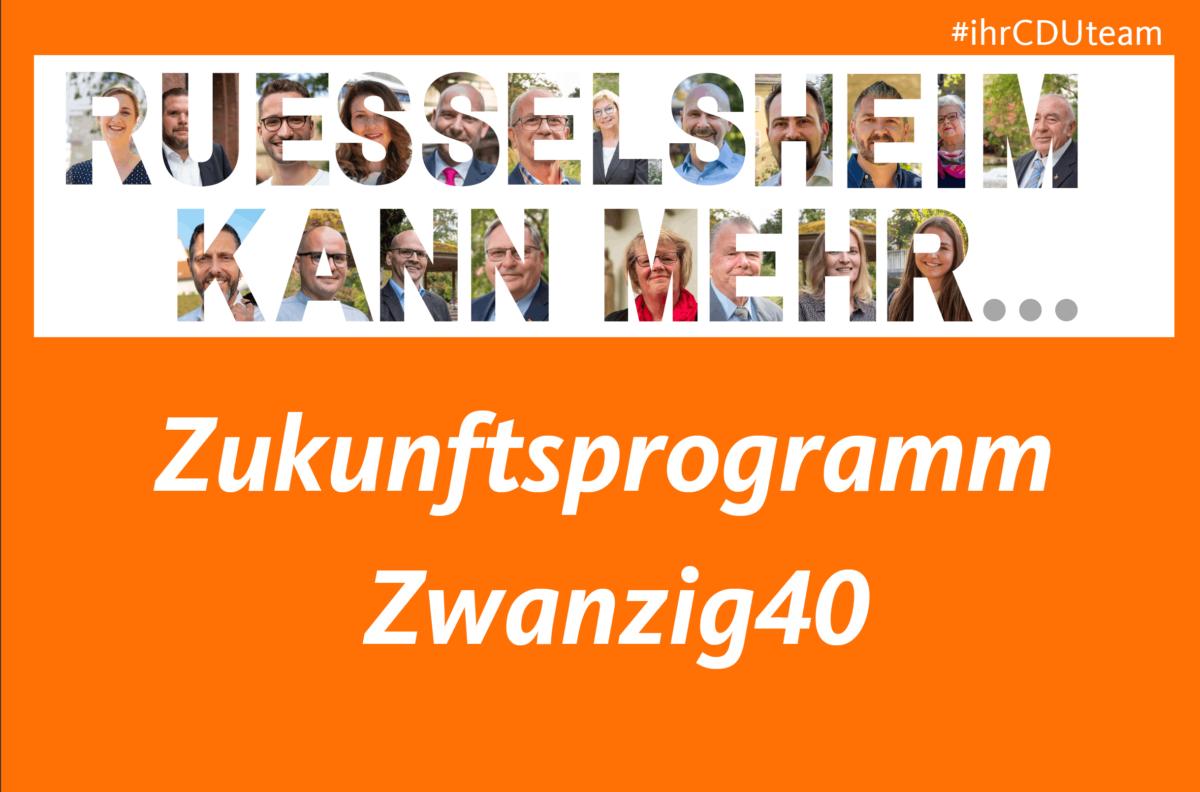 Zukunftsprogramm Zwanzig40
